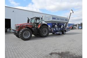 Šrotovník obilí CD 1000 můžete pohánět slabším traktorem od 180 HP