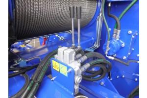 EB 310 LS - detail zadního rozvaděče