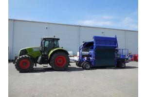 EB 310 LS - transportní poloha stroje